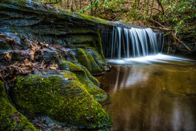 24 - Waterfall in Table Rock State Park